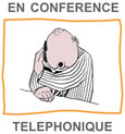 French worksheets - conference call - image